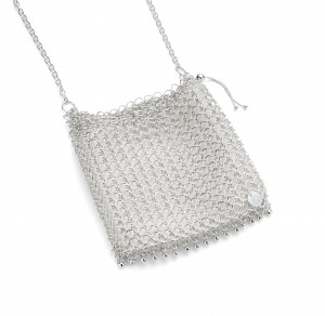 Sea Lace occasion bag - sterling silver                          £3,200